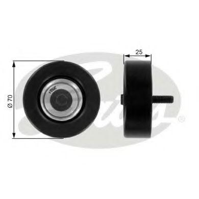 Паразитный / ведущий ролик, поликлиновой ремень GATES арт. T36175