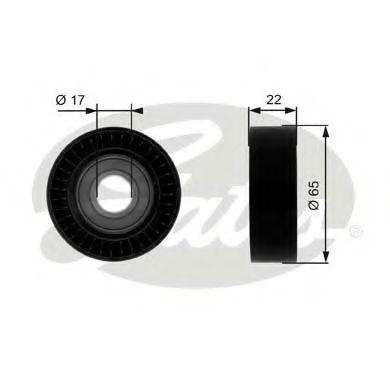 Паразитный / ведущий ролик, поликлиновой ремень GATES арт. T36257