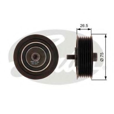 Паразитный / ведущий ролик, поликлиновой ремень GATES арт. T36262