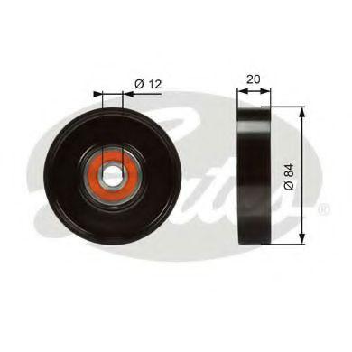 Натяжной ролик, поликлиновой  ремень GATES арт. T36321