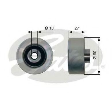Паразитный / ведущий ролик, поликлиновой ремень GATES арт. T36431