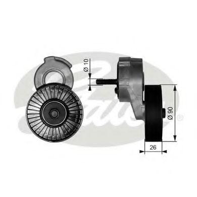 Натяжной ролик, поликлиновой  ремень GATES арт. T38113