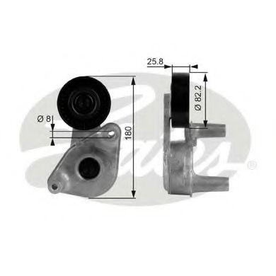 Натяжной ролик, поликлиновой  ремень GATES арт. T38149