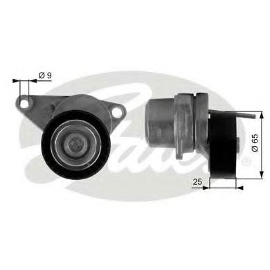 Натяжной ролик, поликлиновой  ремень GATES арт. T38313