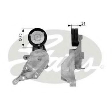 Натяжной ролик, поликлиновой  ремень GATES арт.