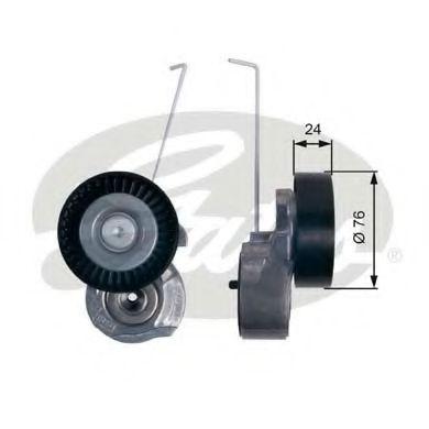 Натяжной ролик, поликлиновой  ремень GATES арт. T38495