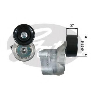 Натяжной ролик, поликлиновой  ремень GATES арт. T39073
