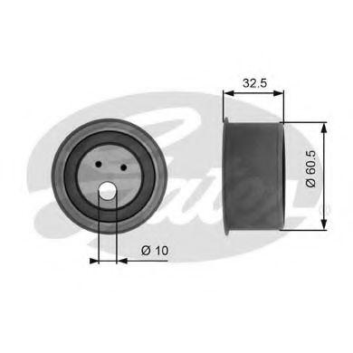 Натяжной ролик, ремень ГРМ GATES арт. T41054