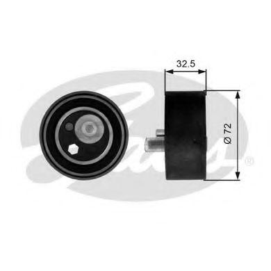 Натяжной ролик, ремень ГРМ GATES арт. T41082