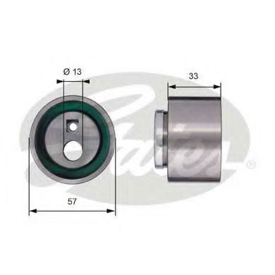 Натяжной ролик, ремень ГРМ GATES арт. T41258