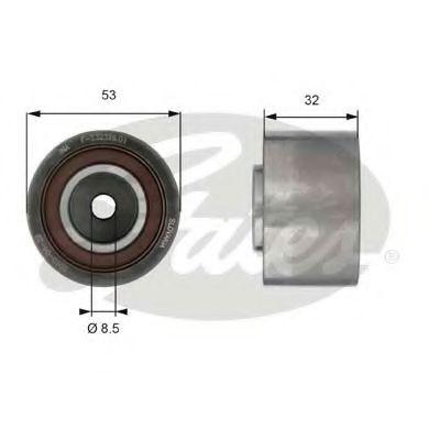 Паразитный / Ведущий ролик, зубчатый ремень GATES арт. T42179