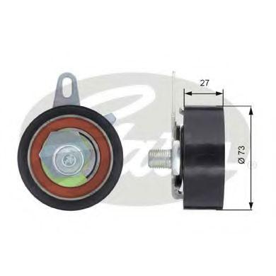 Натяжной ролик, ремень ГРМ GATES арт. T43036