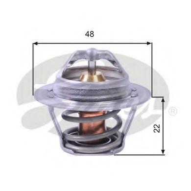 Термостат, охлаждающая жидкость GATES арт. TH00391G1