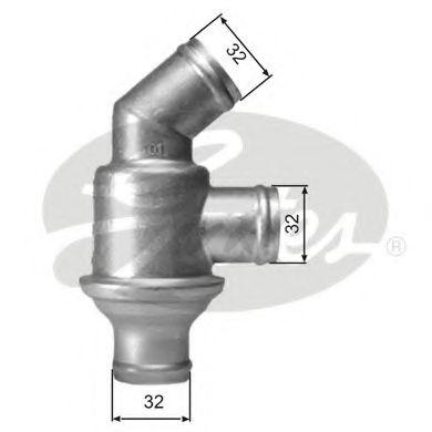 Термостат, охлаждающая жидкость GATES арт. TH01782