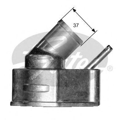Термостат, охлаждающая жидкость GATES арт. TH14992G1