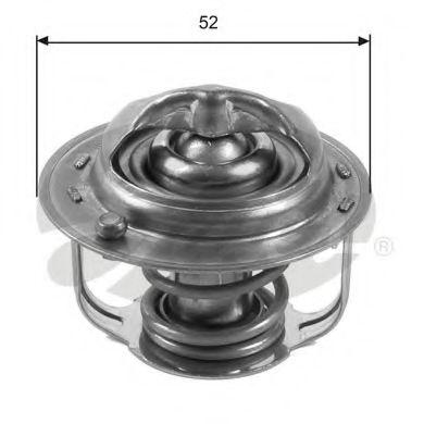 Термостат, охлаждающая жидкость GATES арт. TH35682G1
