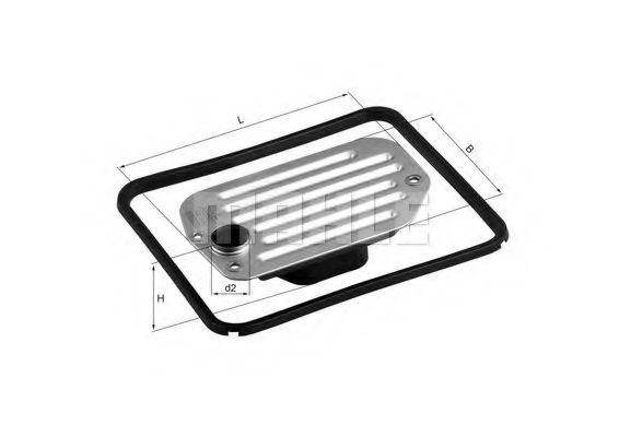 Гидрофильтр, автоматическая коробка передач KNECHT арт.