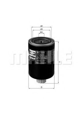 Фильтры топливные Топливный фильтр KNECHT арт. KC191