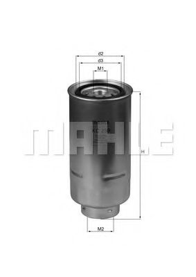 Фильтры топливные Топливный фильтр KNECHT арт. KC239