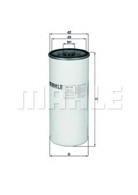 Фильтры топливные Топливный фильтр KNECHT арт. KC300
