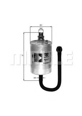 Фильтры топливные Топливный фильтр KNECHT арт. KL69