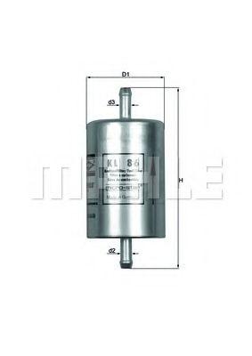 Фильтры топливные Топливный фильтр KNECHT арт. KL86
