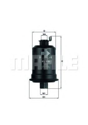 Фильтры топливные Топливный фильтр KNECHT арт. KL129