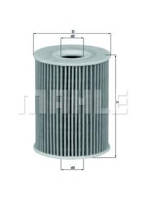 Фильтры масляные Масляный фильтр KNECHT арт. OX3553D