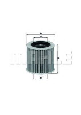 Фильтры масляные Масляный фильтр KNECHT арт. OX360D