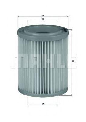 Фильтры воздуха салона автомобиля Воздушный фильтр KNECHT арт. LX1768