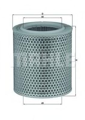 Фильтры воздуха салона автомобиля Воздушный фильтр KNECHT арт. LX4781