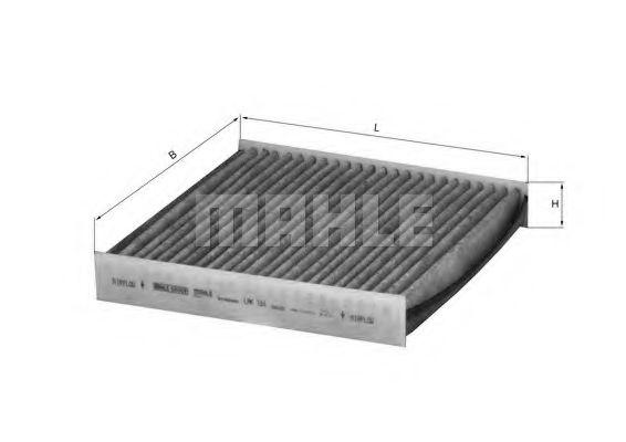 Фильтры прочие Фильтр, воздух во внутренном пространстве KNECHT арт. LAK184
