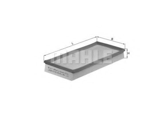 Фильтры воздуха салона автомобиля Воздушный фильтр KNECHT арт. LX504