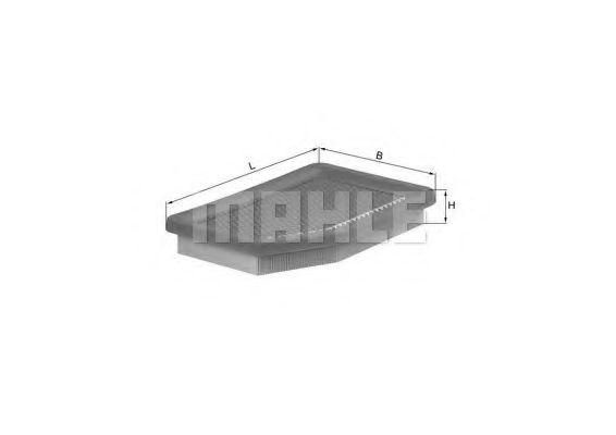 Фильтры воздуха салона автомобиля Воздушный фильтр KNECHT арт. LX546