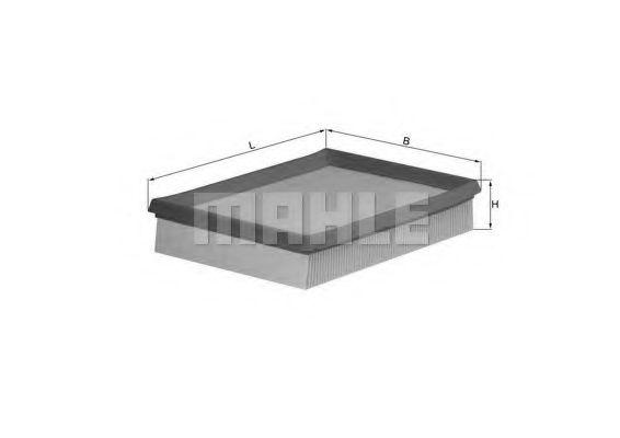 Фильтры воздуха салона автомобиля Воздушный фильтр KNECHT арт. LX643