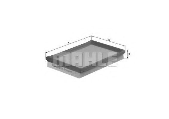 Фильтры воздуха салона автомобиля Воздушный фильтр KNECHT арт. LX687