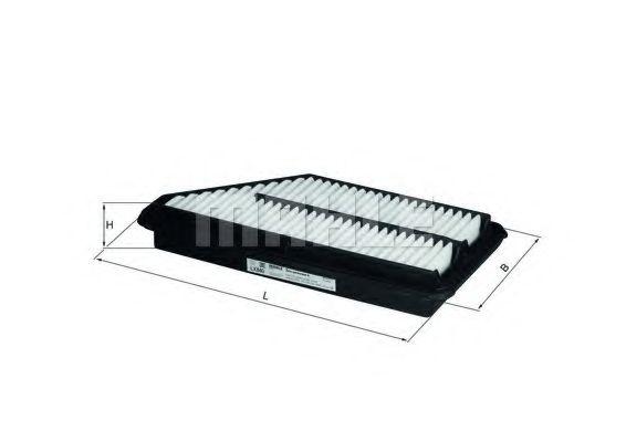 Фильтры воздуха салона автомобиля Воздушный фильтр KNECHT арт. LX840
