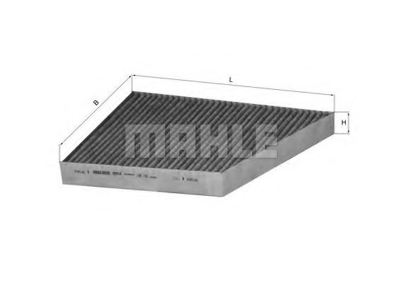 Фильтры прочие Фильтр, воздух во внутренном пространстве KNECHT арт. LAK156