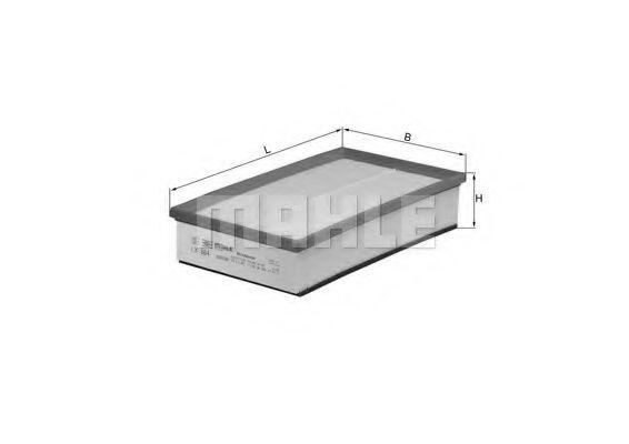 Фильтры воздуха салона автомобиля Воздушный фильтр KNECHT арт. LX864