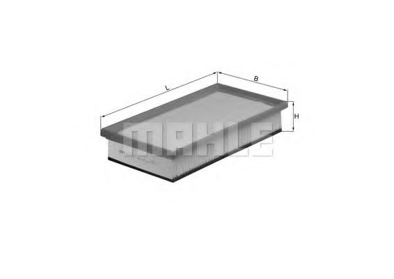 Фильтры воздуха салона автомобиля Воздушный фильтр KNECHT арт. LX1027