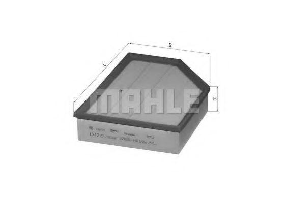 Фильтры воздуха салона автомобиля Воздушный фильтр KNECHT арт. LX1219