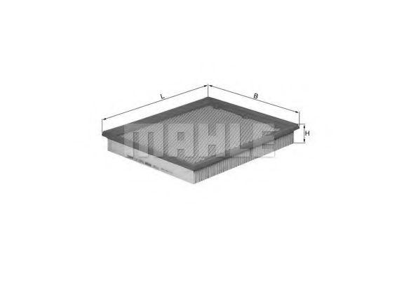 Фильтры воздуха салона автомобиля Воздушный фильтр KNECHT арт. LX1272