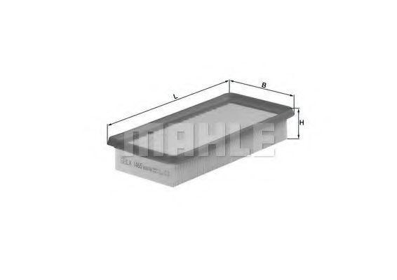 Фильтры воздуха салона автомобиля Воздушный фильтр KNECHT арт. LX1465