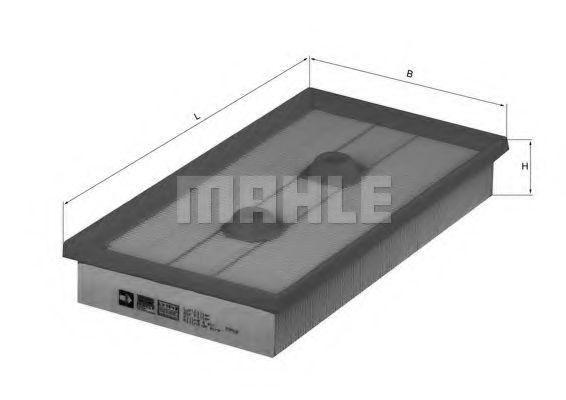 Фильтры воздуха салона автомобиля Воздушный фильтр KNECHT арт. LX1643