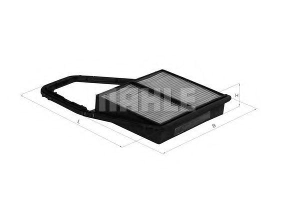 Фильтры воздуха салона автомобиля Воздушный фильтр KNECHT арт. LX1689