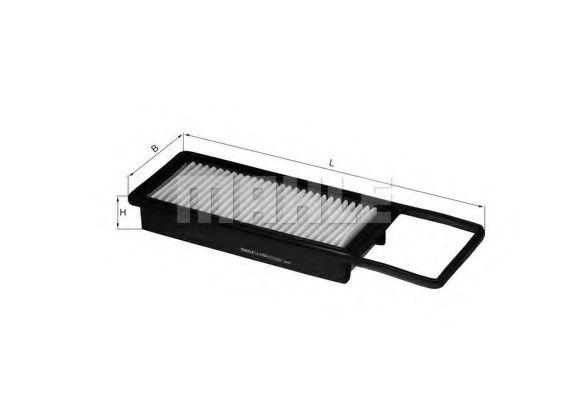 Фильтры воздуха салона автомобиля Воздушный фильтр KNECHT арт. LX1993