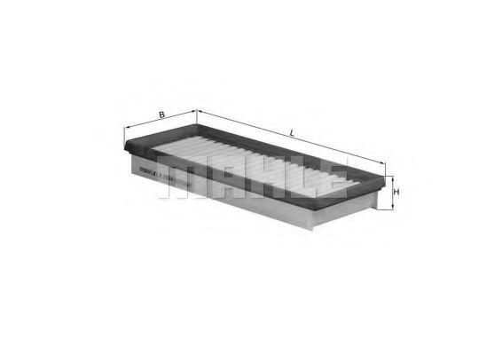Фильтры воздуха салона автомобиля Воздушный фильтр KNECHT арт. LX2034