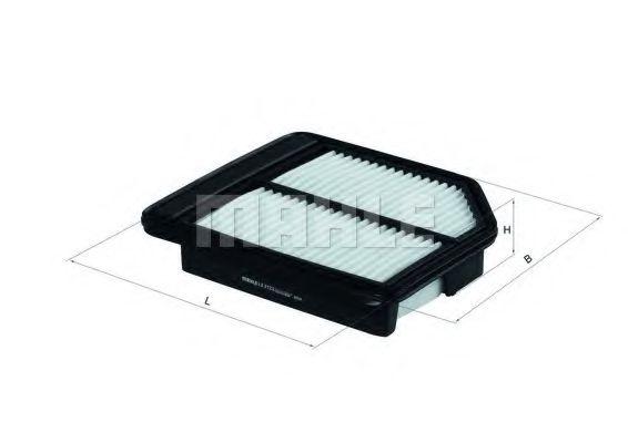 Фильтры воздуха салона автомобиля Воздушный фильтр KNECHT арт. LX2123