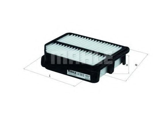 Фильтры воздуха салона автомобиля Воздушный фильтр KNECHT арт. LX2612