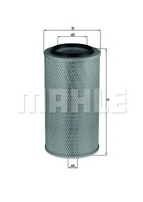 Фильтры воздуха салона автомобиля Воздушный фильтр KNECHT арт. LX265